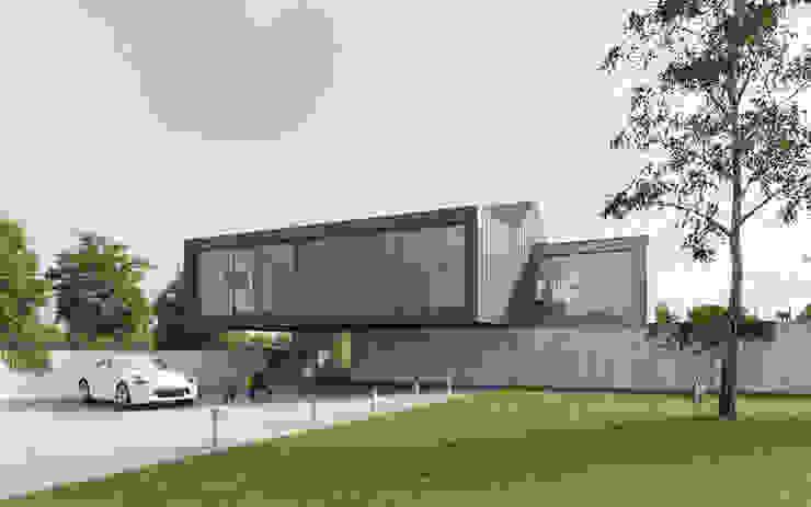 Modern houses by Susuł & Strama Architekci sp. z o.o. Modern
