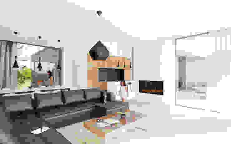 Modern living room by Susuł & Strama Architekci sp. z o.o. Modern