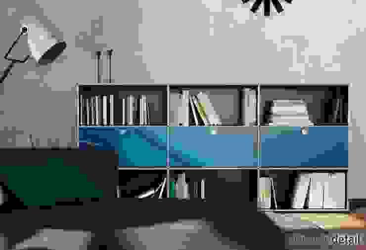Bücherregal: modern  von planungsdetail.de GmbH,Modern