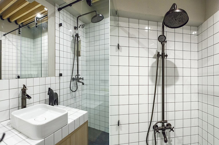 Bathroom by KOPNA, Industrial