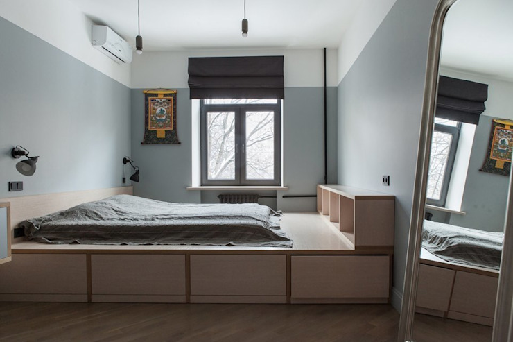 Bedroom by KOPNA, Industrial