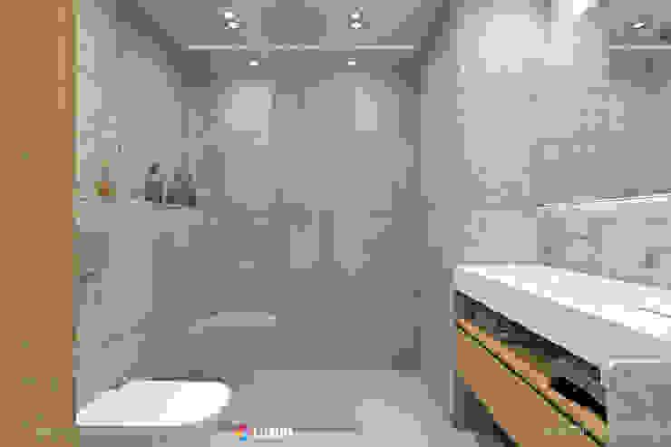 Minimalist bathroom โดย Luxum โมเดิร์น