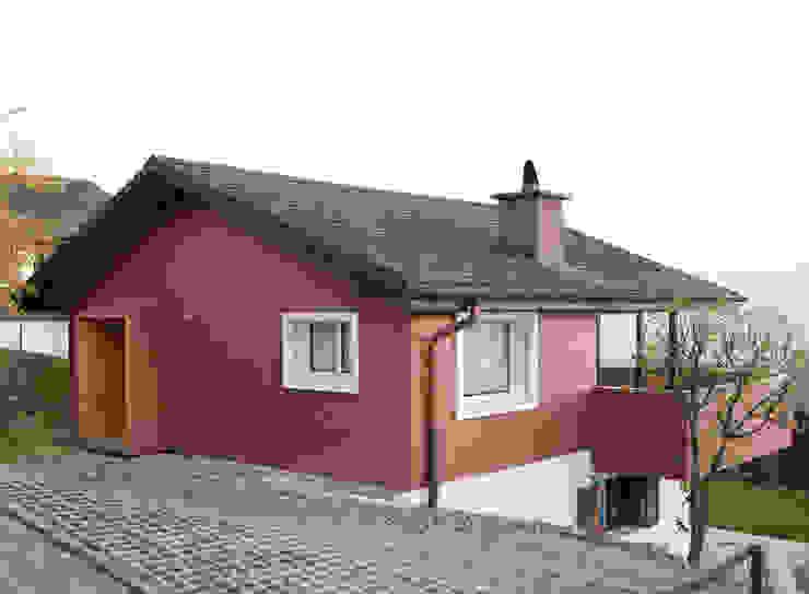 Modern Evler Singer Baenziger Architekten Modern