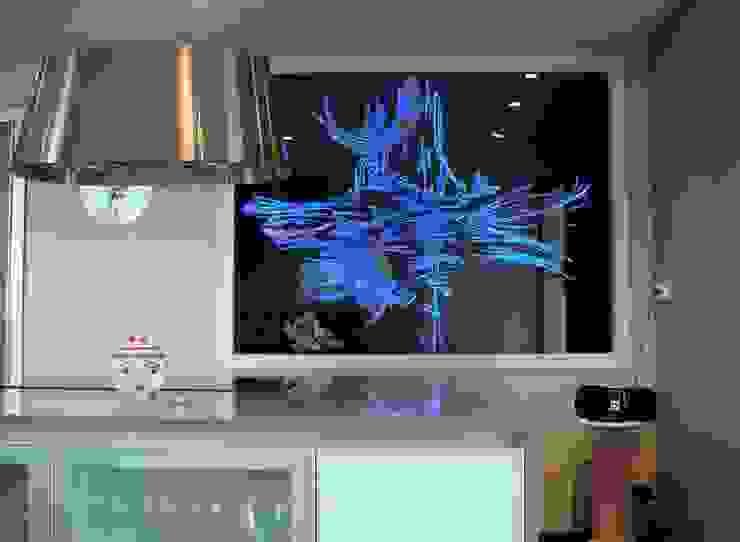 Salas de estar modernas por christian herry sculpture verre Moderno