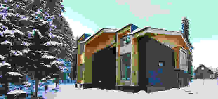 Фото Обложки Дома в стиле минимализм от Snegiri Architects Минимализм
