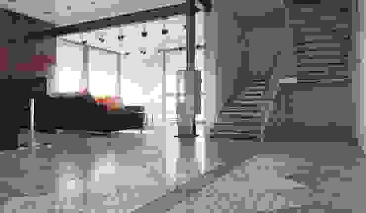 для обложки Коридор, прихожая и лестница в модерн стиле от Сергей Корнилов Модерн