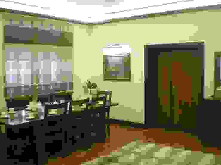 Коттедж в Новой Европе Столовая комната в классическом стиле от Архитектор Константин Тишин Классический