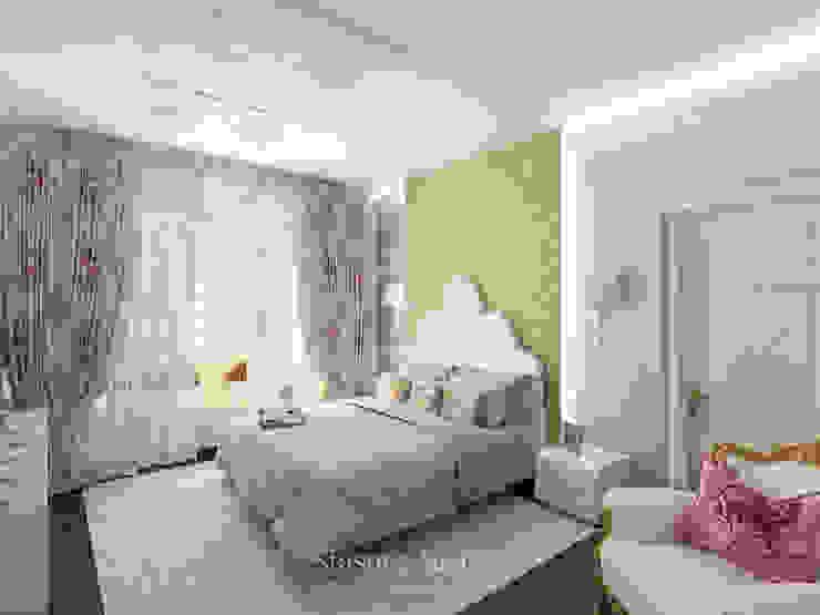 Вечное чувство Спальня в стиле модерн от 'Сестры Стасовы' Модерн