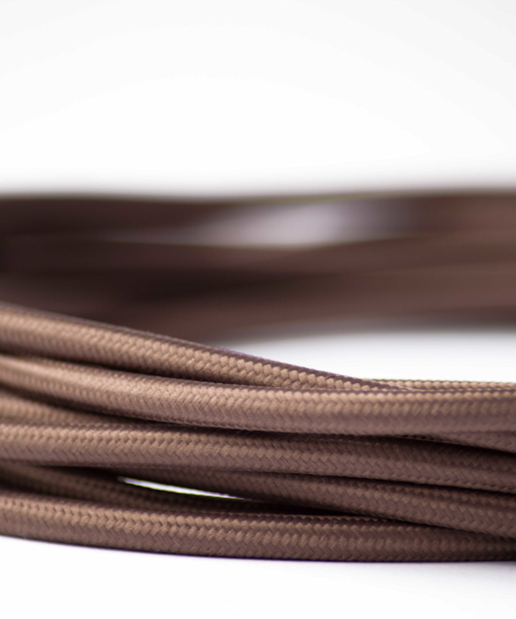 Fabric lighting cable - Brown William and Watson HouseholdAccessories & decoration