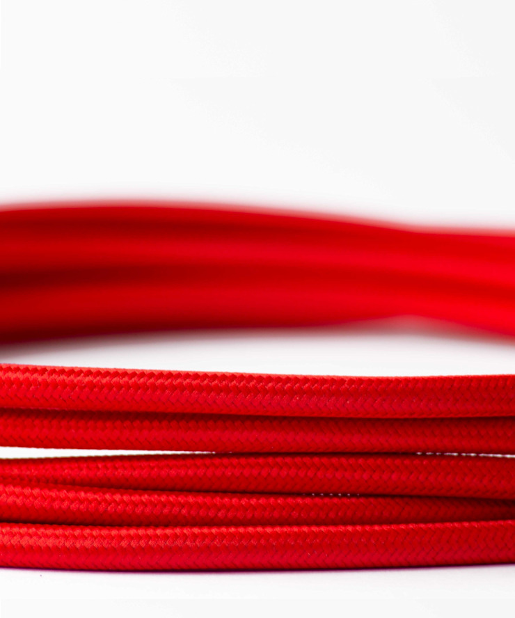 Fabric lighting cable - Red William and Watson HouseholdAccessories & decoration