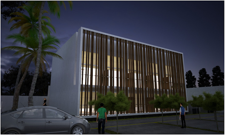 CUBE Casas modernas: Ideas, imágenes y decoración de Desarrollos Proyecta Moderno