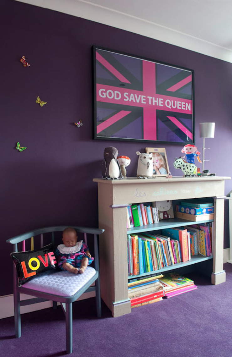 Girls' Bedroom Ideas Dormitorios infantiles de estilo moderno de bobo kids Moderno