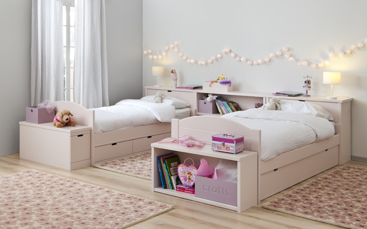 Twin beds at bobo kids de bobo kids Moderno