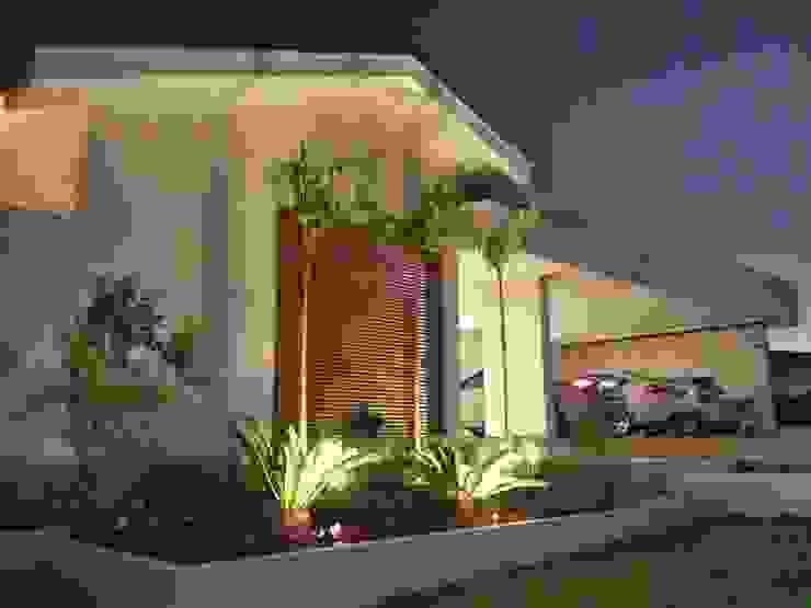 Fachada Casas minimalistas por Celina Molinari Arquitetura e Interiores Minimalista