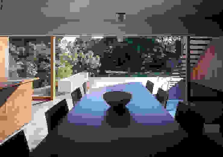 世帯2 主室 モダンデザインの ダイニング の 八木建築研究所 Yagi Architectural Design モダン