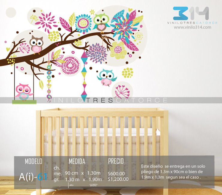 Vinilo314 Modern nursery/kids room Multicolored