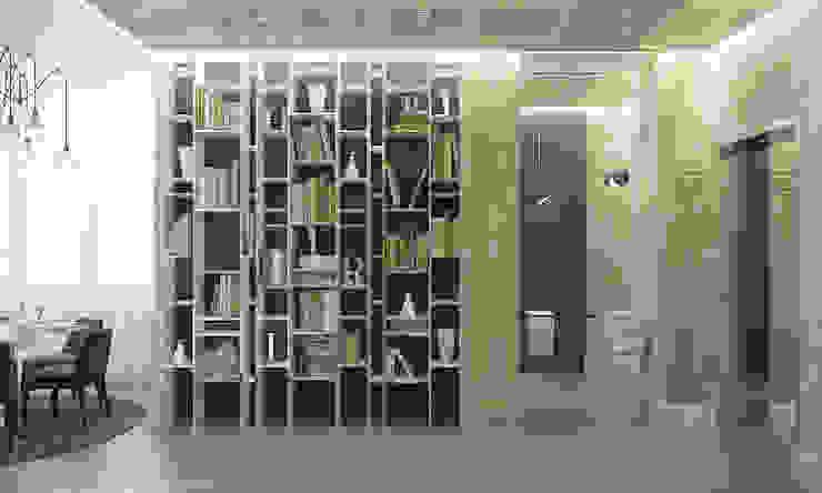 Апартаменты в Санкт-Петербурге Коридор, прихожая и лестница в классическом стиле от Наталья Озерова Классический
