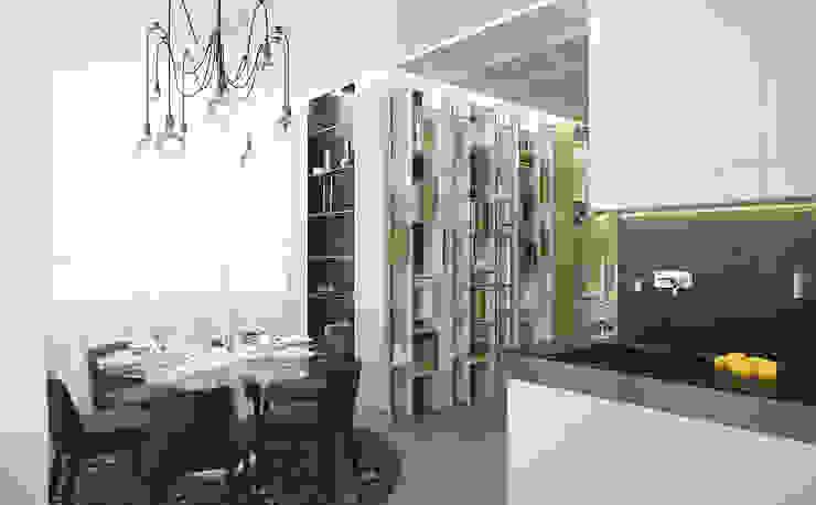 Апартаменты в Санкт-Петербурге Столовая комната в классическом стиле от Наталья Озерова Классический