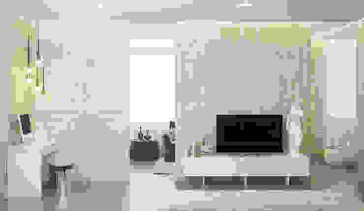 Апартаменты в Санкт-Петербурге Гостиная в классическом стиле от Наталья Озерова Классический