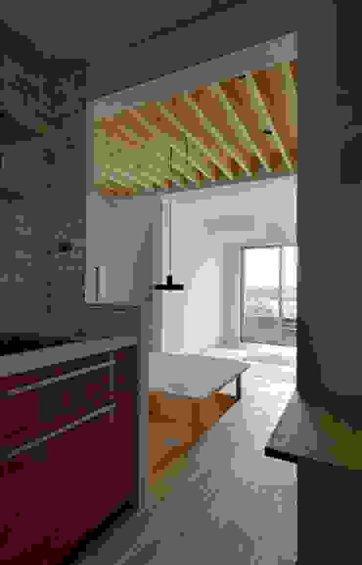 湖西の家 モダンな キッチン の 岩田建築アトリエ モダン