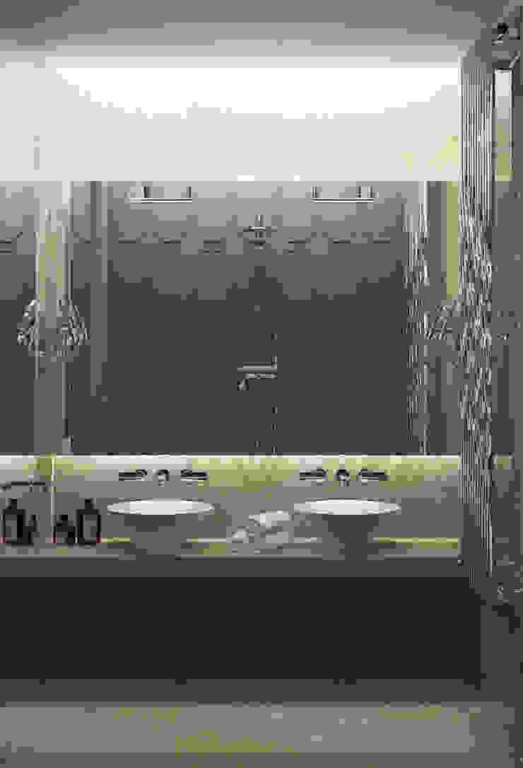 Апартаменты в Санкт-Петербурге Ванная в классическом стиле от Наталья Озерова Классический
