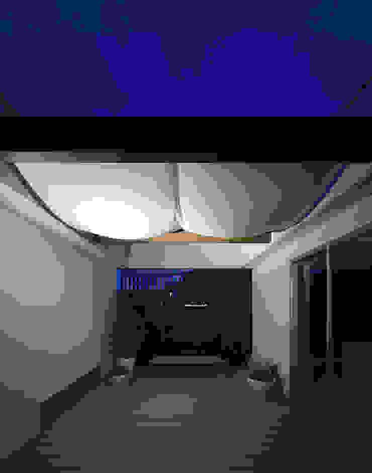 桐の家 モダンデザインの テラス の 住工房一級建築士事務所 モダン