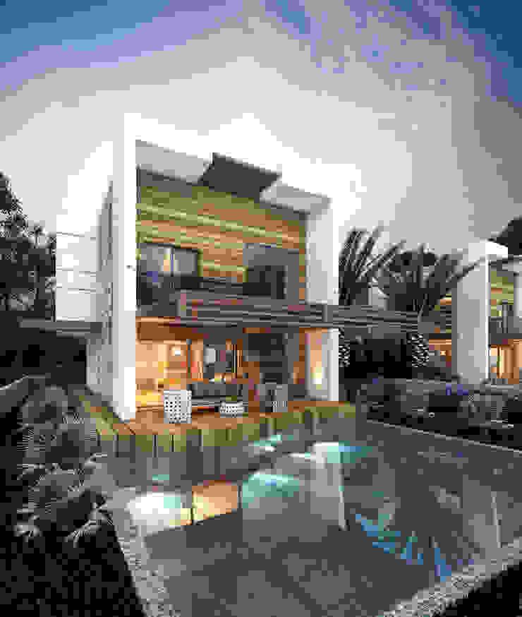 Casas modernas de MİNERVA MİMARLIK Moderno