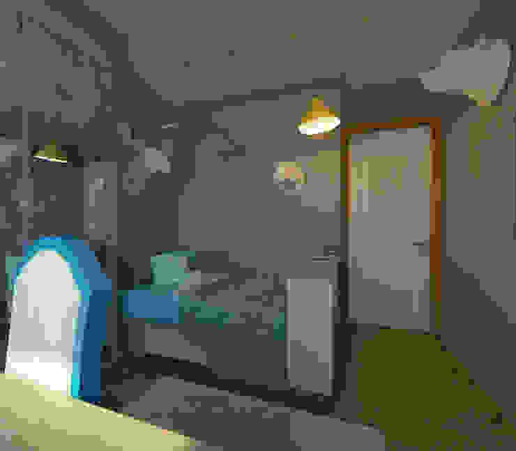 Французская лазурь Детские комната в эклектичном стиле от Арт-мастерская 'РЕПЛИКА' Эклектичный