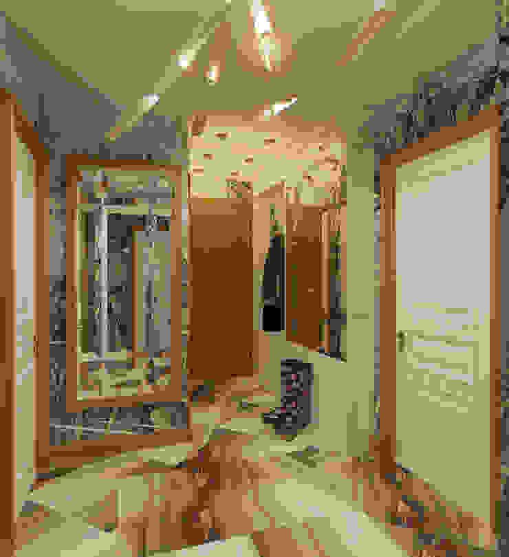 Французская лазурь Коридор, прихожая и лестница в эклектичном стиле от Арт-мастерская 'РЕПЛИКА' Эклектичный