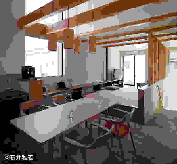 Modern Yemek Odası シーズ・アーキスタディオ建築設計室 Modern