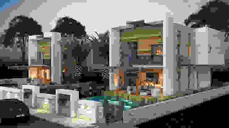 Casas de estilo  por MİNERVA MİMARLIK, Moderno