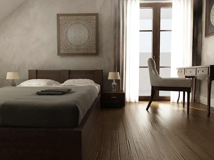 Asian style bedroom by homify Asian