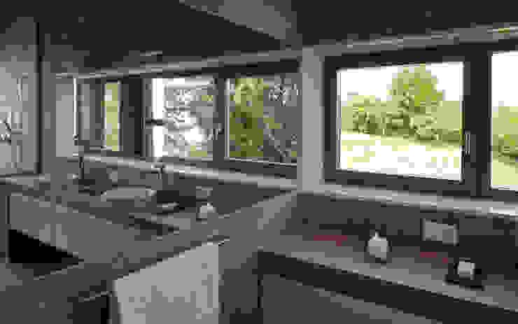 Villa Hubbell Swartz Moderne Badezimmer von MACH Architektur GmbH Modern
