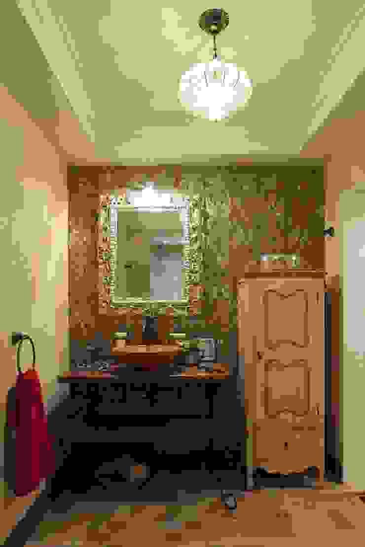 Загородный дом 360м2 Ванная комната в эклектичном стиле от Tatiana Ivanova Design Эклектичный