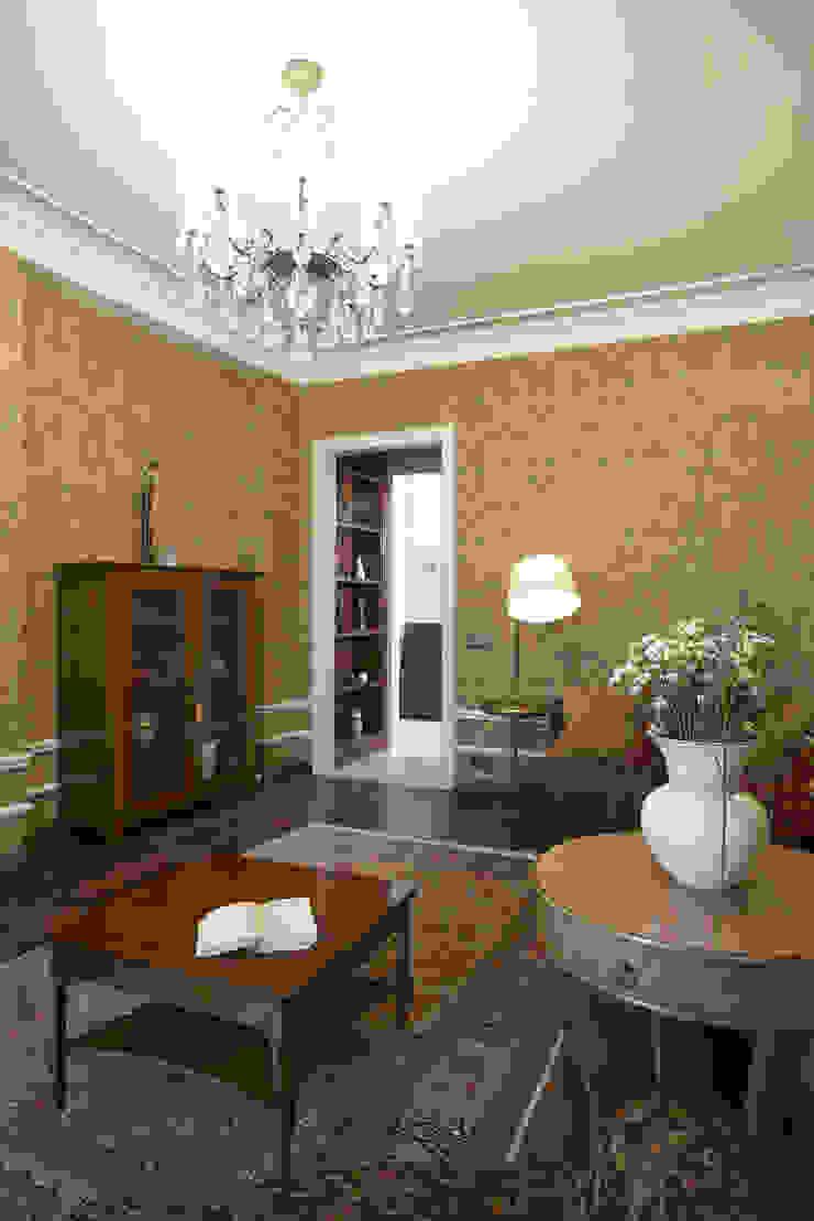 Квартира 135 м2 Гостиная в классическом стиле от Tatiana Ivanova Design Классический