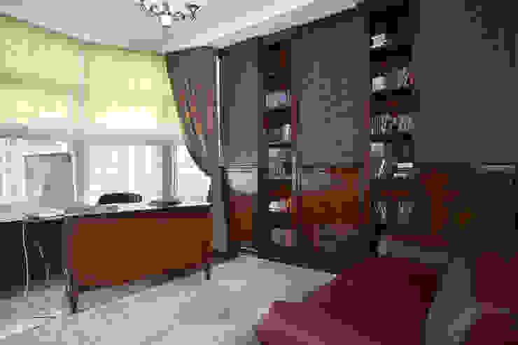 Квартира 135 м2 Рабочий кабинет в классическом стиле от Tatiana Ivanova Design Классический