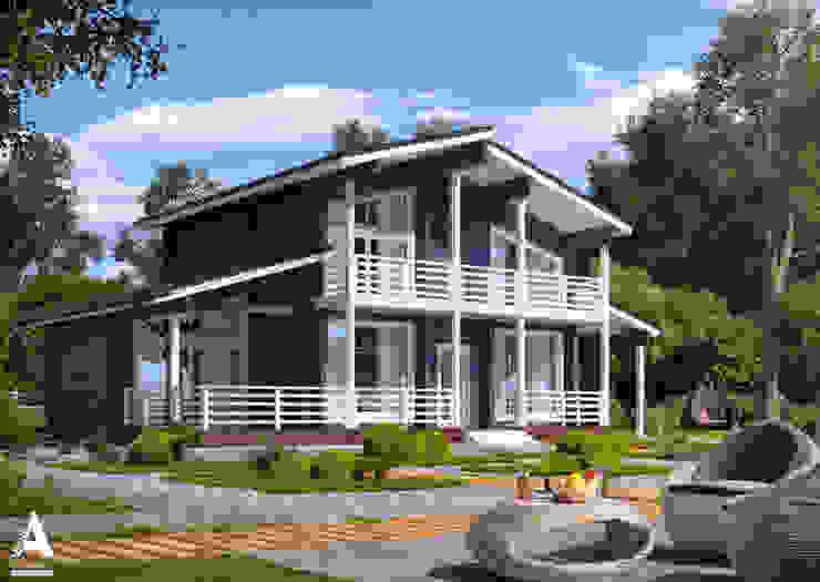 Jardines de estilo moderno de Аrchirost Moderno
