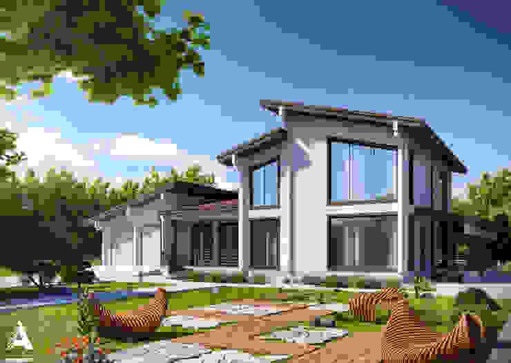 Modern style gardens by Аrchirost Modern