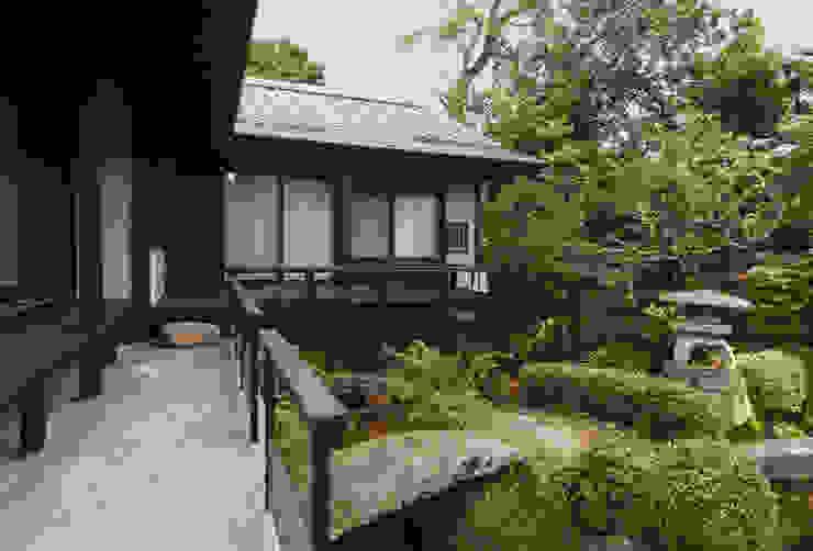 島原古民家再生 アジア風 庭 の 環アソシエイツ・高岸設計室 和風