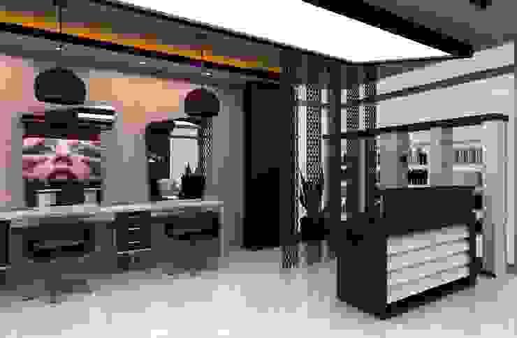 Hair Design Center DETAY MİMARLIK MÜHENDİSLİK İÇ MİMARLIK İNŞAAT TAAH. SAN. ve TİC. LTD. ŞTİ. Modern