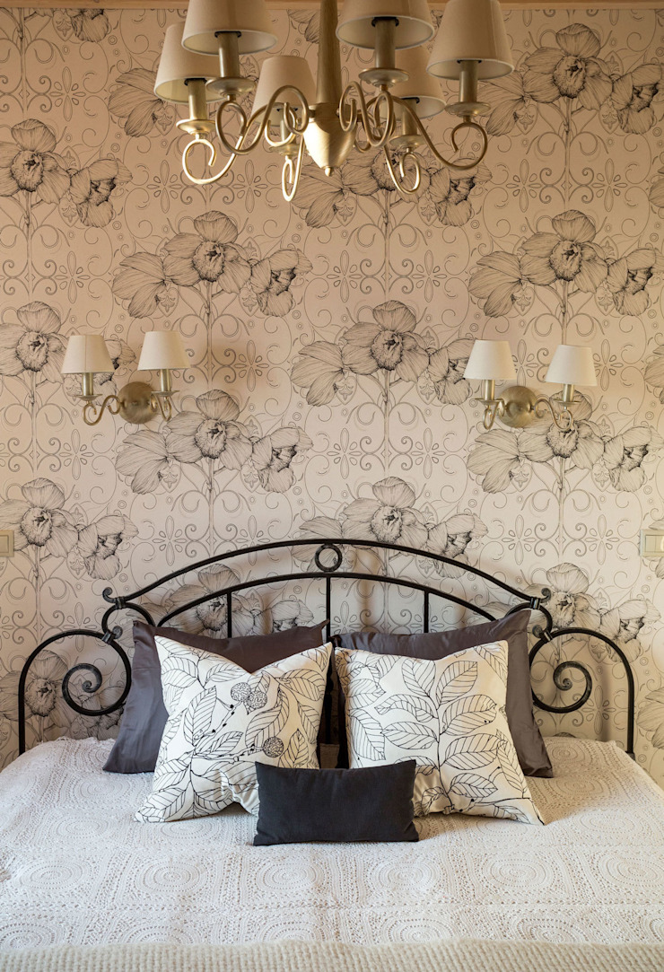 Country style bedroom by Tatiana Ivanova Design Country