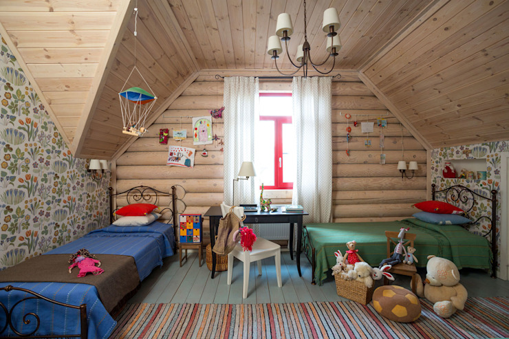 Nursery/kid's room by Tatiana Ivanova Design, Country