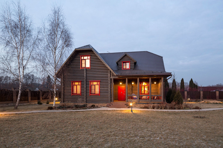 Country style house by Tatiana Ivanova Design Country