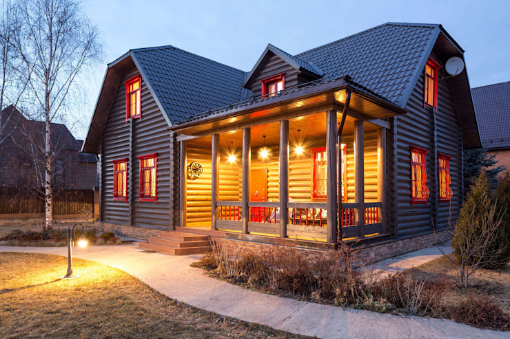 Tatiana Ivanova Design Log cabin