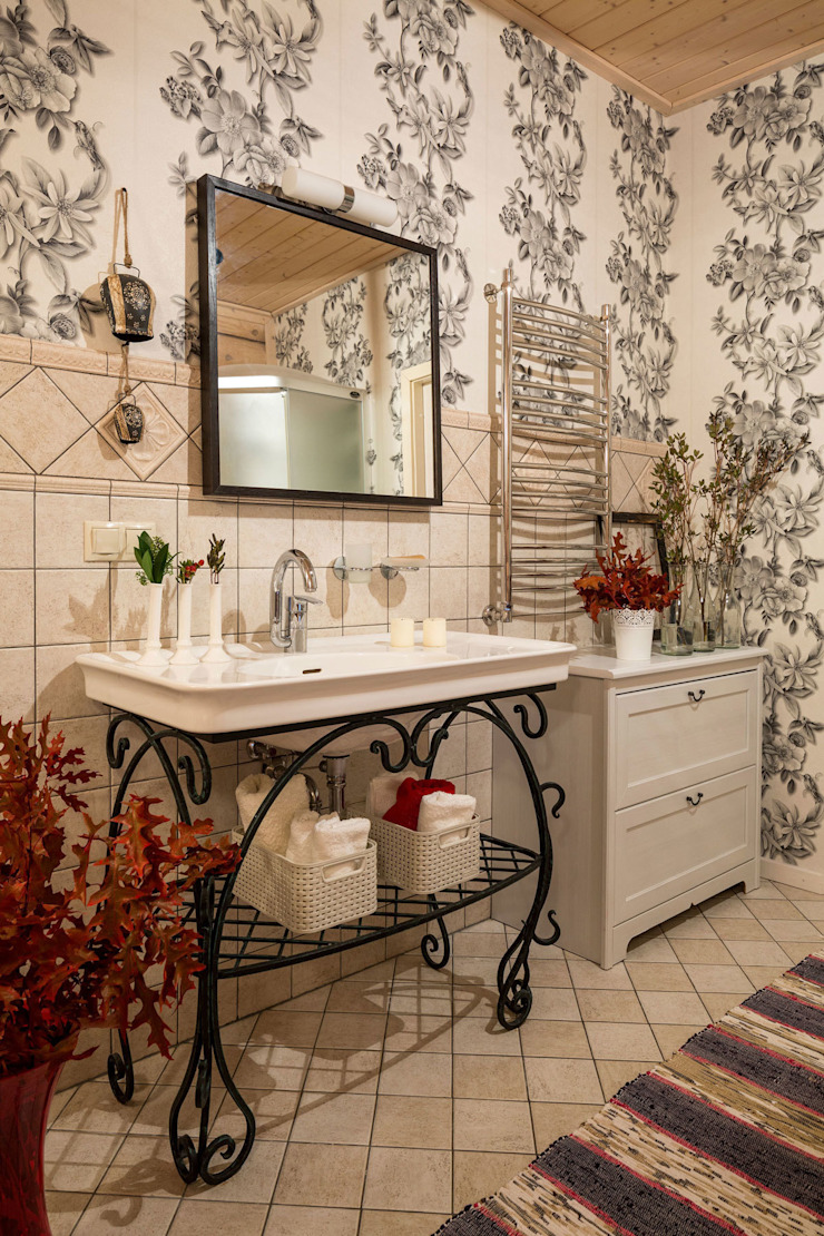 Country style bathroom by Tatiana Ivanova Design Country