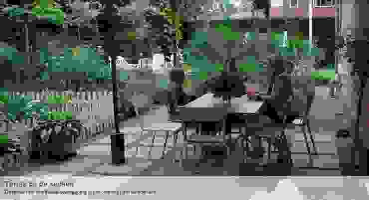 Vườn phong cách hiện đại bởi Groene Kikker Tuinontwerp Hiện đại