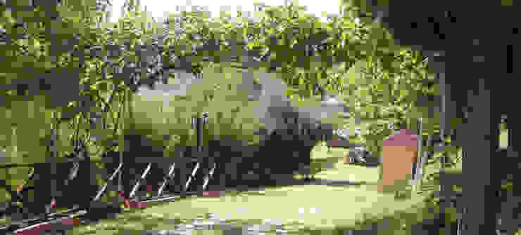 SAKLI GÖL EVLERİ – Saklı Göl Evleri:  tarz Bahçe,