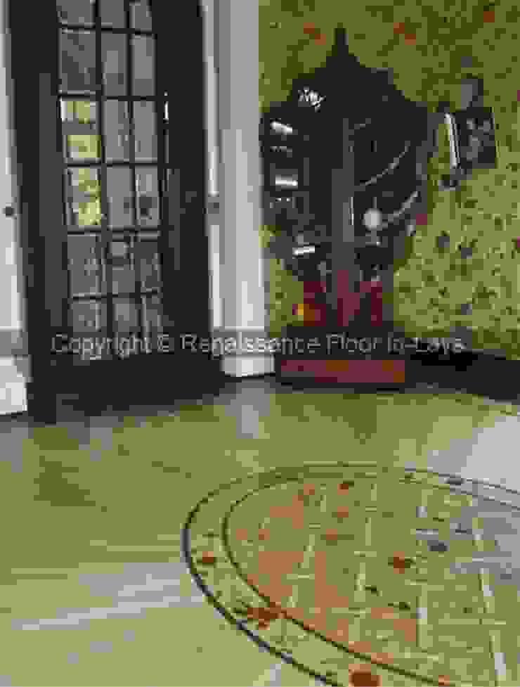 intarsie podłogowe Klasyczne domowe biuro i gabinet od Renesans Floor In-lays Klasyczny Lite drewno Wielokolorowy