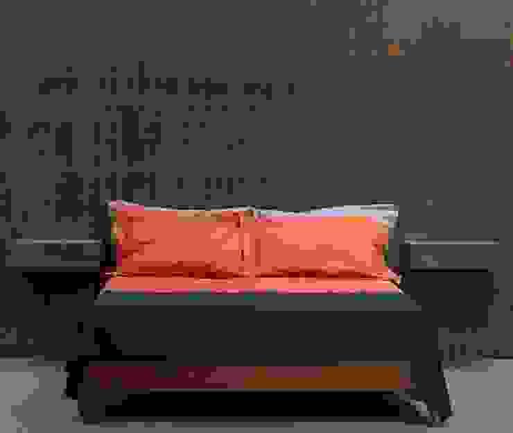 Bedroom muto Eclectic style walls & floors