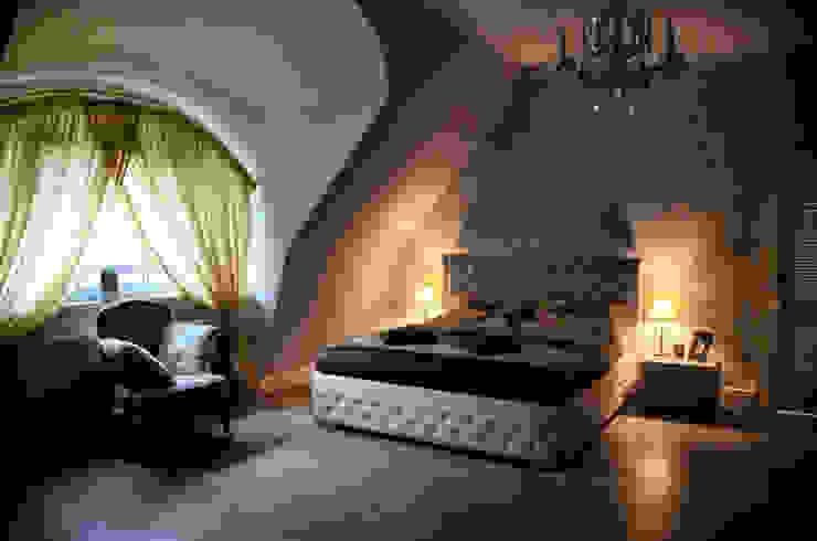 Projekty,  Sypialnia zaprojektowane przez homify, Rustykalny